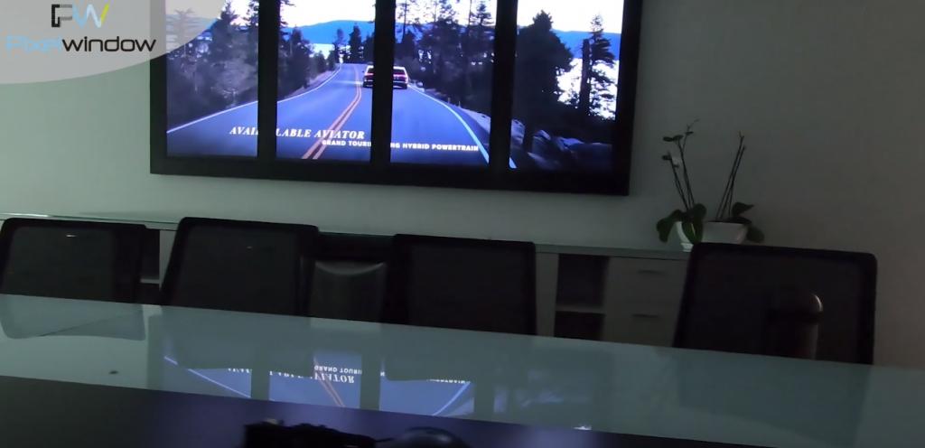 implementacion de video wall en corporativo