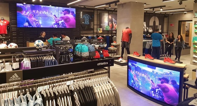uso de digital signage retail
