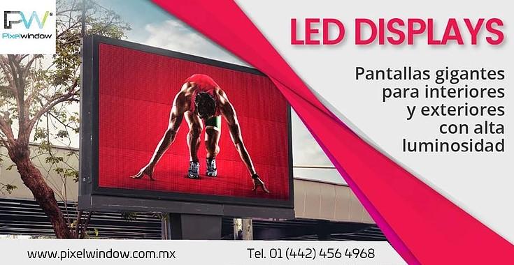 led displays pixel window