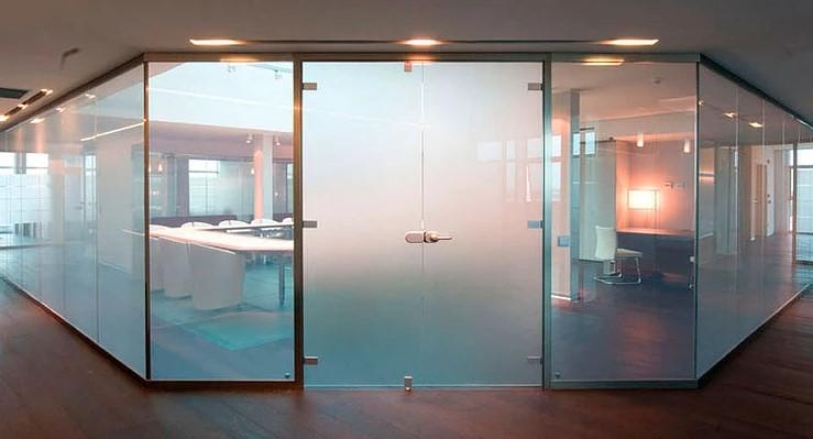 paredes con cristales inteligentes