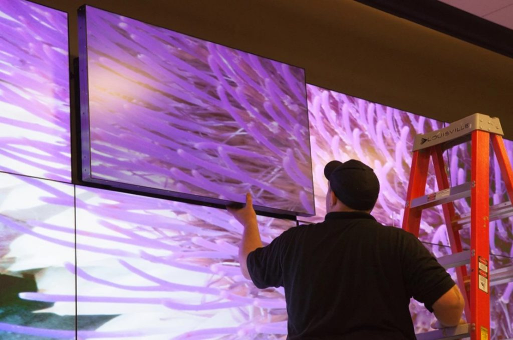 como implementar video wall