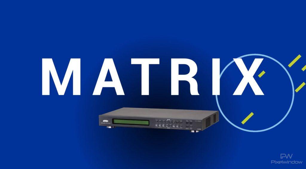 como funciona la matrix